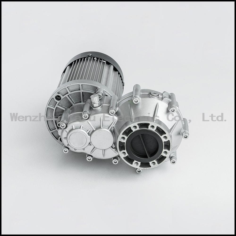 Купить с кэшбэком Micro electric flat delivery vehicle Brushless Holzer Differential DC motor  BM1412HQF1000W(BLDC) 48/60V