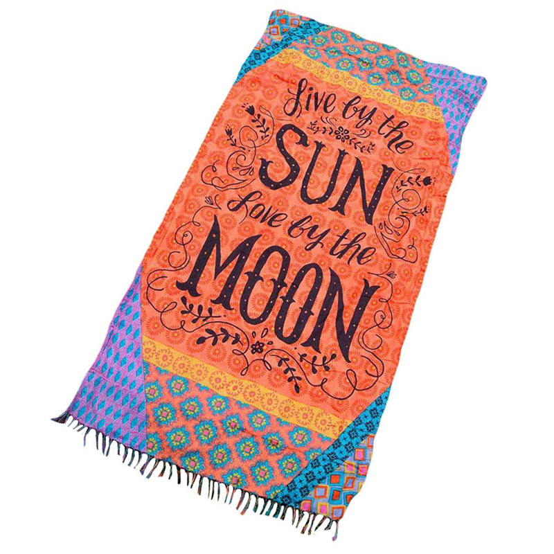 Geometric Letter Floral Tapestry Large Beach Towel Classic Style Girl  Striped Bath Towel Rayon Tassels Lawn Outdoor Yoga Cushion