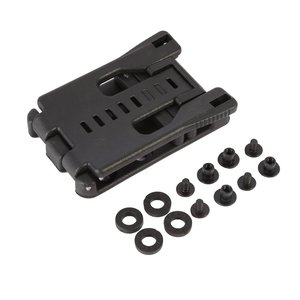 Image 3 - Back Clip Kydex Scabbard Waist Clamp Hunting Camping Belt Clip Gear Multi function K Sheath Accessories