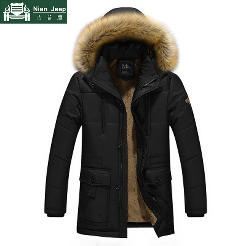 Parka   Men 2018 Winter Casual Keep Warm Wool Liner Outwear Brand Clothing Fur Hooded Coats Mens Jackets Hombre Plus Size M-5XL