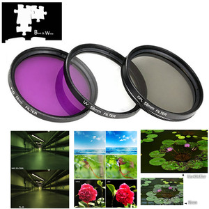 Image 2 - UV FLD CPL Filter / Adapter ring / Cap / Cleaning pen / Air Blower for Canon Powershot SX540 SX530 SX520 HS Camera