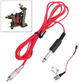 Professional 1PCS Tattoo Clip Cord Phono Plug Converter RCA Jack Kit For for Machine Gun Power Supply