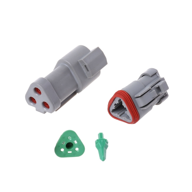 DT06/DT04 2/3/4/6 Pin Engine Gearbox Waterproof Electrical Auto Connector Car Connectors