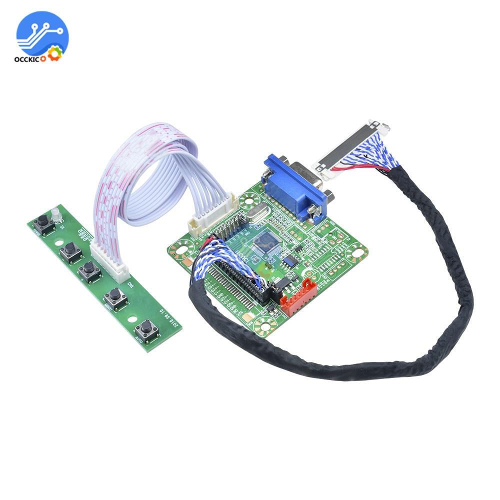 """MT6820-B LVDS ЖК-монитор драйвер платы контроллера 5 в 1""""-42"""" для ноутбука DIY Kit MT561B модуль драйвера экрана"""