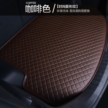 Myfmat custom trunk car Cargo Liners pad mats cargo liner mat for JAC K5/3 iev b15 A13 RS refine s3 s2 s5 Refine RS free ship