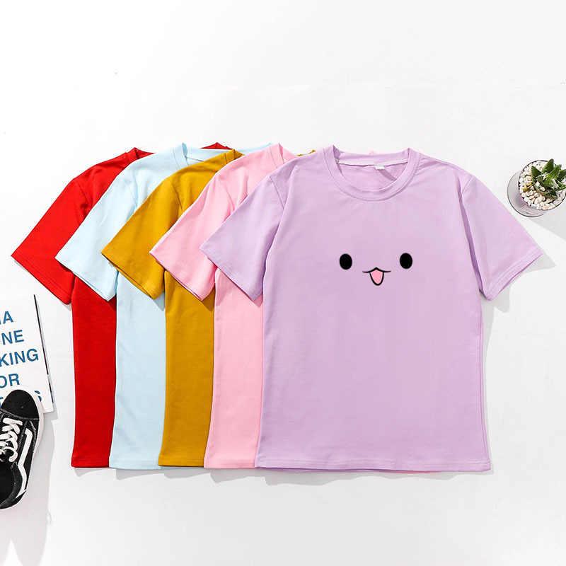Милые женские футболки с принтом, весна-лето, короткий рукав, о-образный вырез, хлопок, спандекс, женские топы, футболки, облегающие Женские футболки