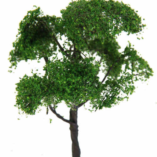 12 سنتيمتر نموذج الدردار شجرة قطار شارع بارك لعبة الحرب ديوراما مشهد 1:75 مقياس HO