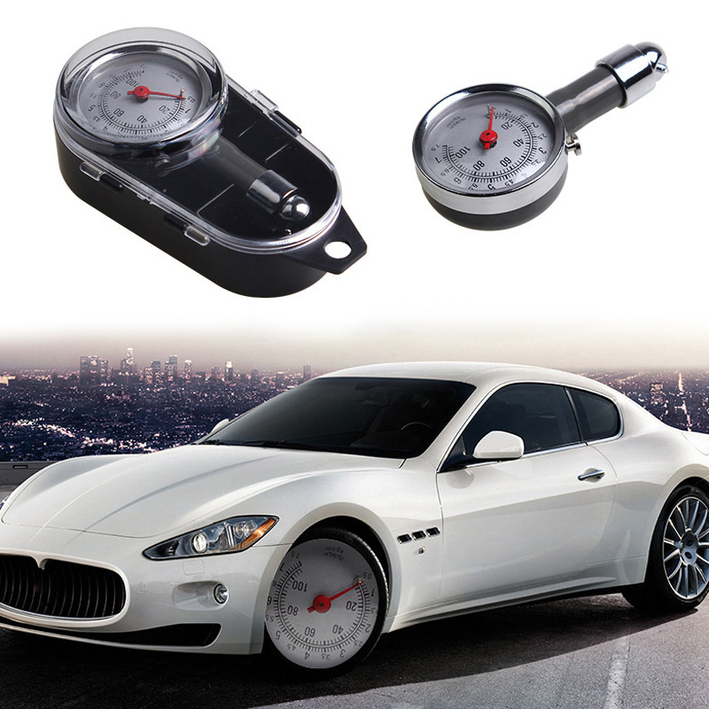 Auto Wheel Tire Air Pressure Gauge Meter Handle Mirror Shaped Vehicle Motorcycle Car Tyre Tester  VS998