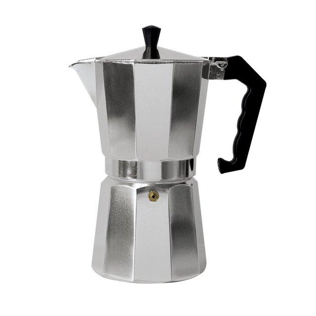 6 Cup 300ml Aluminum Espresso Maker Italian Coffee Stove Top