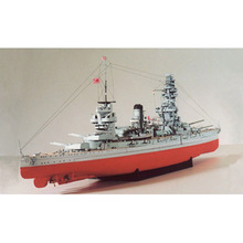 Paper Japan FUSO-class Battleship Warship Model Toys Handmade DIY creative show props tide Collection Military enthusiast Gift
