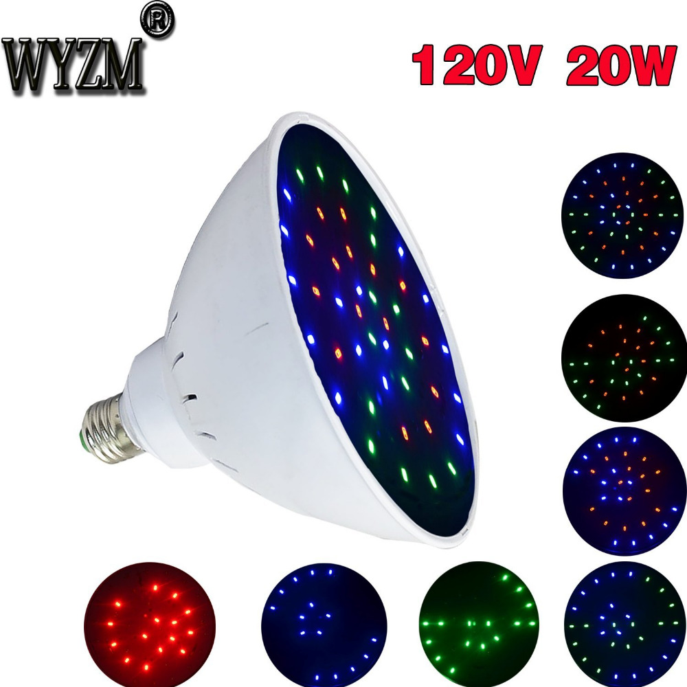 Ship From USA 120V/20W Wireless Swimming Led Pool Light For Hayward Pentair Fixture RGB Color Changing LED Light Bulbs