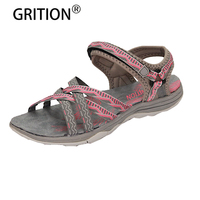 Women Hiking Water Sandals Trail Outdoor Athletic Shoes Sport Open Toe Adjustable Sandals Damen Schuhe Zapatos