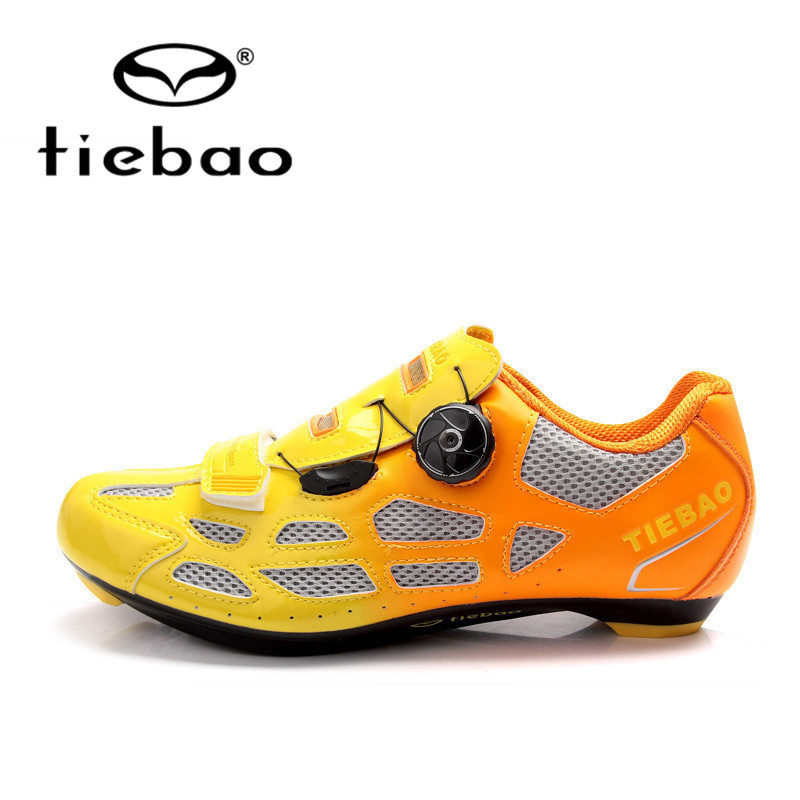 Tiebao Bicycle Cycling Shoes Breathable Men Women Road Bike Racing Athletic Shoes Self-Locking Shoes zapatillas ciclismo bimuduiyu new england style men s carrefour flat casual shoes minimalist breathable soft leisure men lazy drivng walking loafer