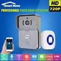 WiFi Телефон Видео Дверной Звонок С Камерой wi-fi Дверной Звонок Непромокаемые Домофон ИК Ночного Видения Камера для Домашней Безопасности