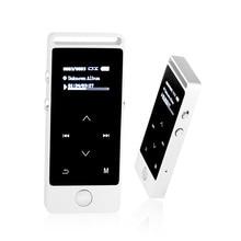 Mini Reproductor de MP3 Original de 8 GB de Metal de Alta Calidad de Sonido Sin Pérdidas deporte reproductor de MP3 FM Reproductor de Música reproductor de mp3 de alta fidelidad con auricular