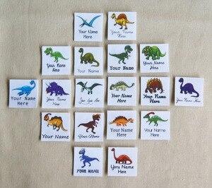 Image 3 - Étiquettes avec logo personnalisées avec nom pour enfants, 96 pièces