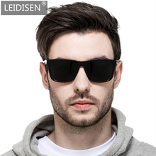 LEIDISEN 2019 Polarized UV400 Sunglasse Men Dazzle Color Dri