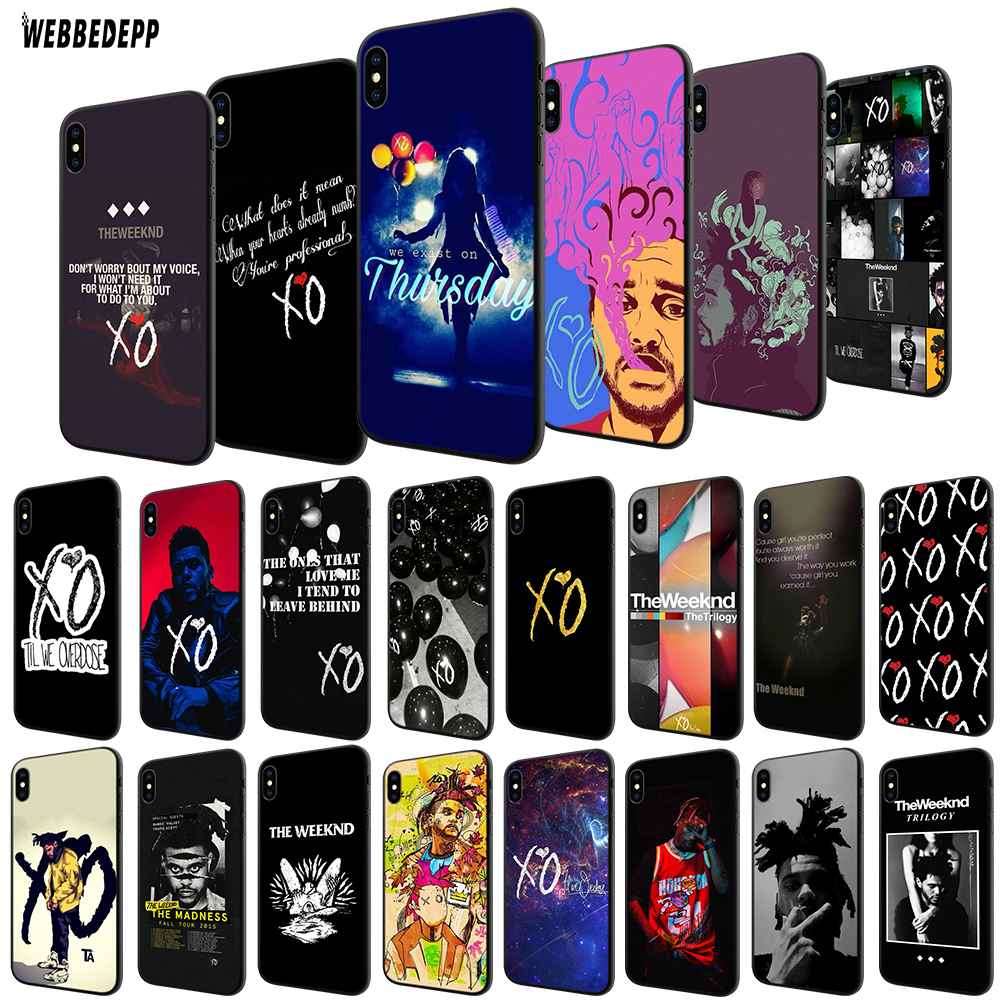 WEBBEDEPP The Weeknd TPU Cover For Apple IPhone 6 6S 7 8 Plus 5 5S SE X XS MAX XR Soft Case