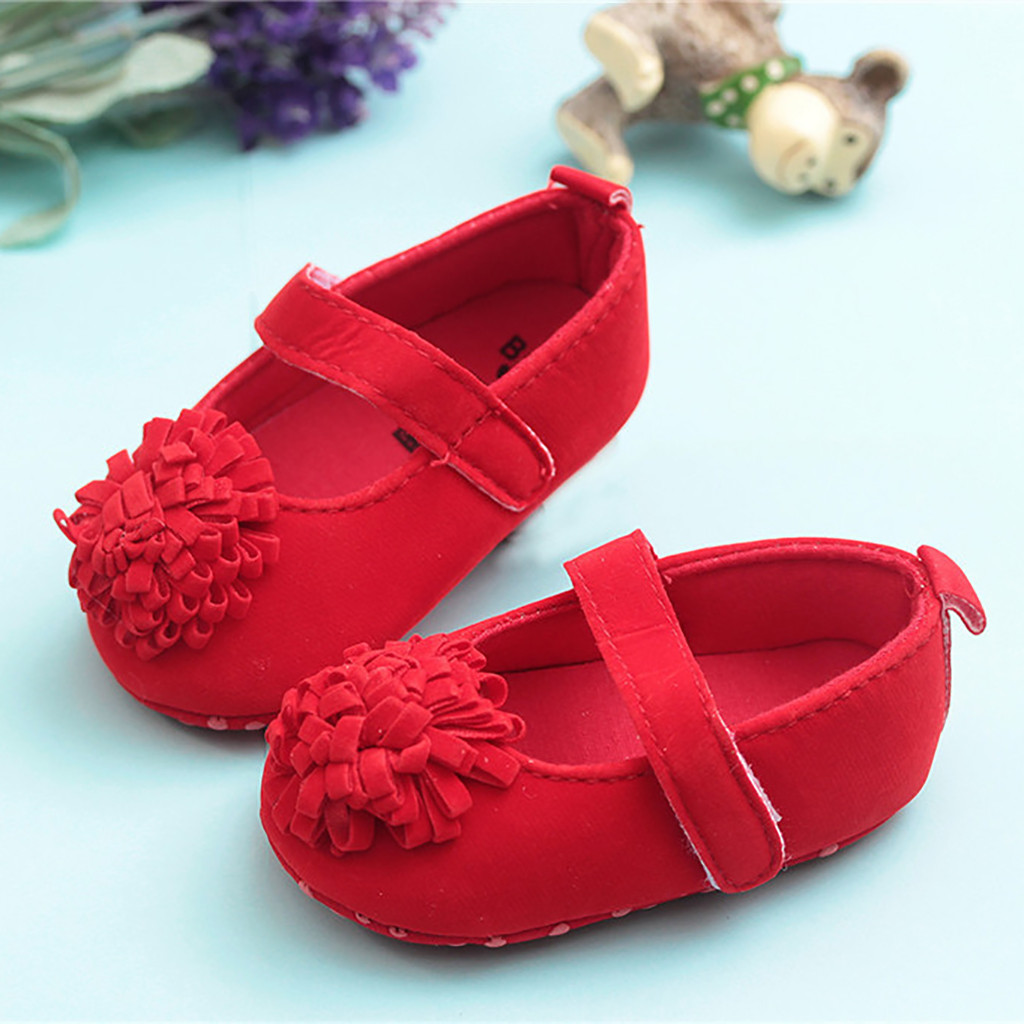 Baby Shoes Flowers Toddler New Mini Melissa Cute Red Nina Zapatillas Kid