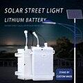 Новый 12v Солнечный аккумулятор 20ah 30ah 18650 перезаряжаемый водонепроницаемый литиевый аккумулятор для уличного освещения
