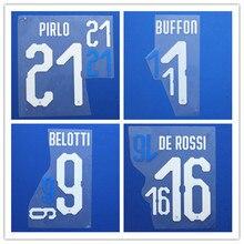 02dc0939c68 New Italy BUFFON CHIELLINI VERRATTI INSIGNE BONUCCI PIRLO BELOTTI name font  print
