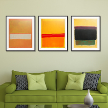 Mark Rothko Abstract Canvas Oil Painting print Unframed Spray Frameless hologram living room Home decor art drawing