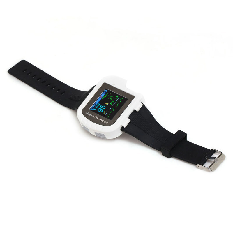 Hot Sale Color OLED Display Wrist Fingertip Pulse Oximeter with Software - Spo2 Monitor Finger pulse oximeter