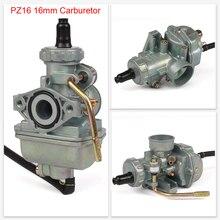 PZ16 16mm Carburetor Hand Choke Carb Rigid Mechanical Device Fit For Dirt Bike/Pit Bike /ATV Quad 50-90CC Engines