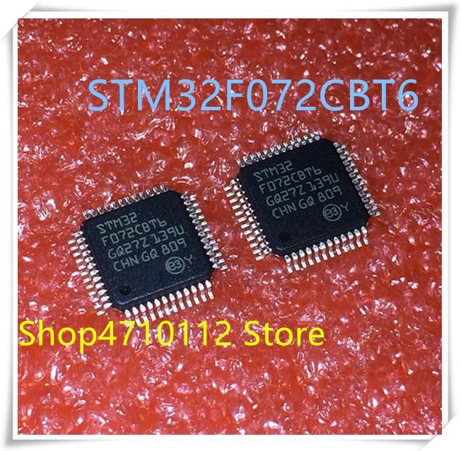 NEW 10PCS/LOT STM32F072CBT6 STM32F 072CBT6 LQFP-48 IC