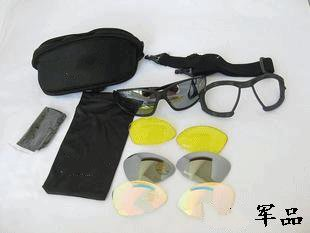 ФОТО The United States C4 the fourth generation of anti-wind sand impact goggles outdoor goggles