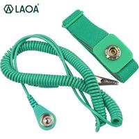 LAOA Anti-static Wristband Static-free Wrist Strap Band With 3M rope
