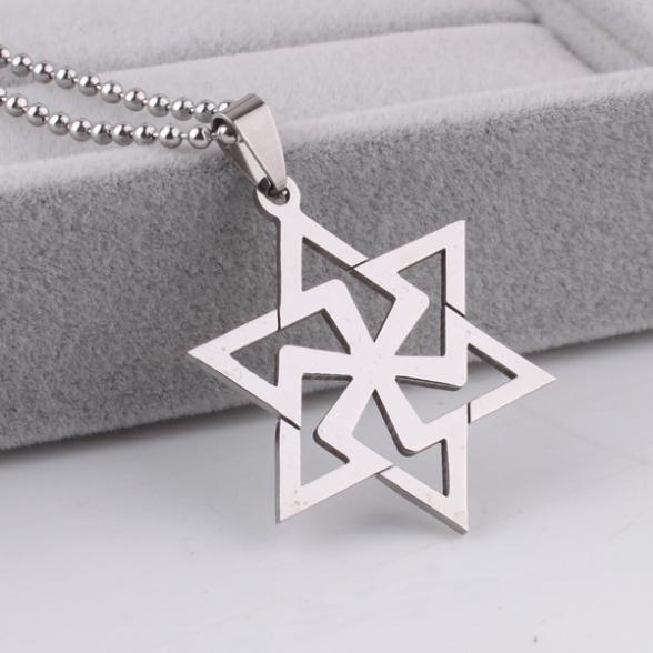 e1b2fb7ab923 Envío Gratis Snowflake estrella colgante collares Cadena de cuentas ...