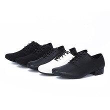 Men Latin Ballroom Dance Shoes Oxford 3cm Low Heel Chacha Moderm Dance Shoes Plus Size Tango Ballroom Dance Shoes Sneakers цена 2017