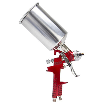 цена на 1.4mm 1000ml Professional HVLP Spray Gun Mini Sprayer Paint Spray Guns Airbrush for Painting Car Aerograp
