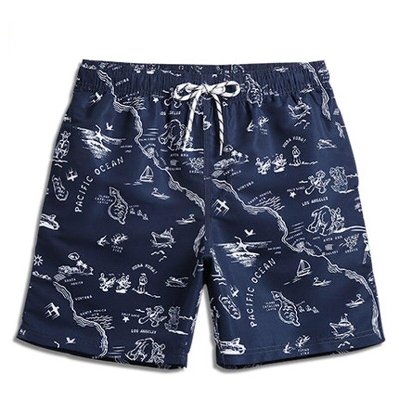 Board     shorts   mens swimming trunks quick dry swimwear boardshorts print sportswear beach bathing surfing boxer for man swimsuit