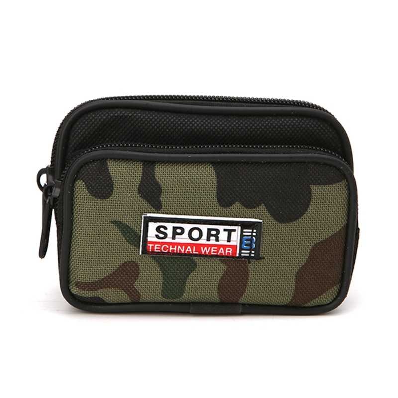 1Pc Universal Smart Phone Sport Case Zipper Waist Bag Cover Card Pocket For Men New Holder