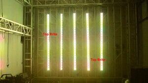Image 5 - Profesjonalne oświetlenie ścienne LED 12X3W DMX listwa LED DMX linia Bar ściana światło wiązki stroboskopowe oświetlenie dyskotekowe LED oświetlenie Dj efekt