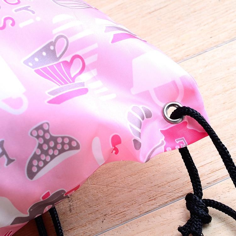 Экологичная прочная переработанная Полиэфирная Сумка, полиэфирная хозяйственная сумка, Полиэфирная Сумка на шнурке