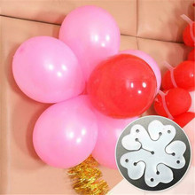 20pcs Wedding Birthday Party Balloon Ring Clip Arch Stand Connectors Buckle Baby Shower Ballon Decorations DROP SHIPPING OK