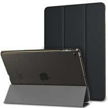 For iPad Air 1 Case iPad 2013 A1474 A1475 A1476 Case Funda Ultra Thin PU Leather Silicone Soft Cover for iPad Air1 2013 9 7 Case cheap zair Protective Shell Skin 9 7 Solid 5 3inch For Apple iPad Casual Waterproof Shockproof Drop resistance Anti-Dust Hard