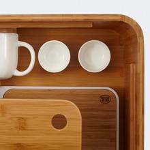 Japanese Bamboo Coffee Table