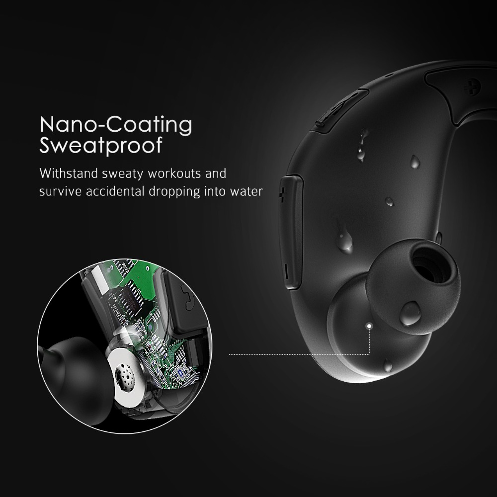 Stereo Earbuds Sport With 1