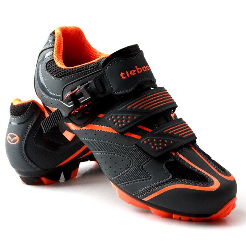 TIEBAO Chaussures de Vélo Vélo Sport Chaussures SPD Zapatos de Montagne Vélo VTT Ciclismo Bloqueo Zapatos de Bicicleta De VTT Chaussures