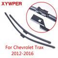 XYWPER стеклоочистителей для Chevrolet Trax 2012 2013 2014 2015 2016 автомобильные аксессуары мягкие резиновые стеклоочистители