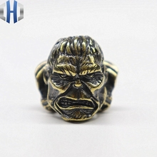 Pure Copper Avengers Hulk Knife Drops Brass DIY Outdoor Survival Tools Pendant Umbrella Beads
