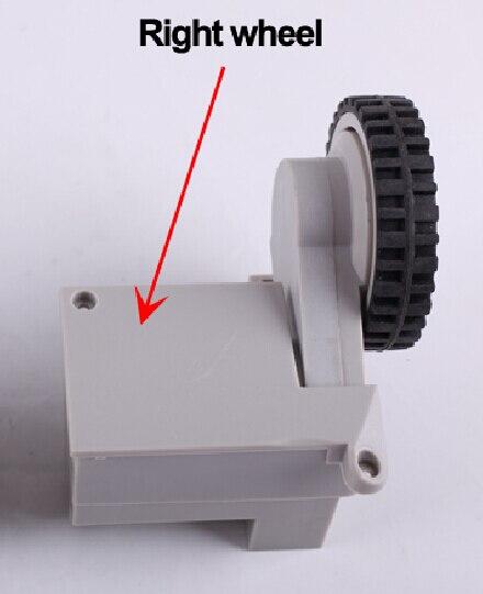 (Pour Cleaner-A320/A325/A330/A335/A336/A337/A338) Roue pour Robot Aspirateur Cleaner, y compris Assemblée Roue Droite x 1 pc