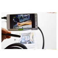 3 5M 7mm Lens 6 LEDS 2in1 Android Cctv Security Endoscope Camera Cmos Pipe Mini Usb
