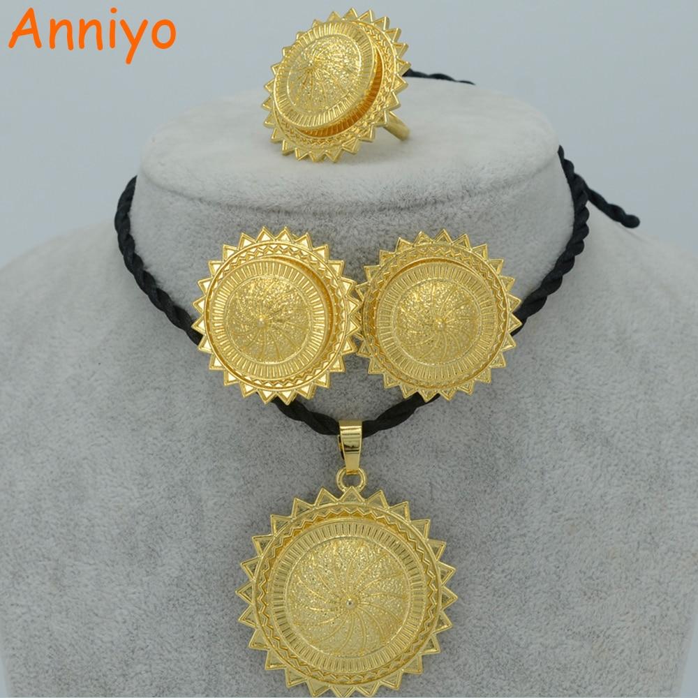 Aliexpress.com : Buy Anniyo Ethiopian Gold Color Jewelry