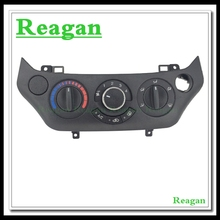 1 Pcs High quality! Air AC Heater Panel Climate Control Assy For Chevrolet Lova Aveo Opel 9017452 Black Gray Beige