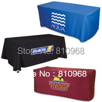 Custom Trade Show Table Cover Trade Show Table Cloth Printing Heat Transfer Digital Printing Polyester Table